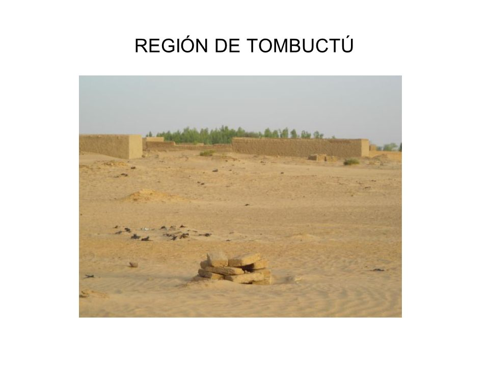 REGIÓN DE TOMBUCTÚ
