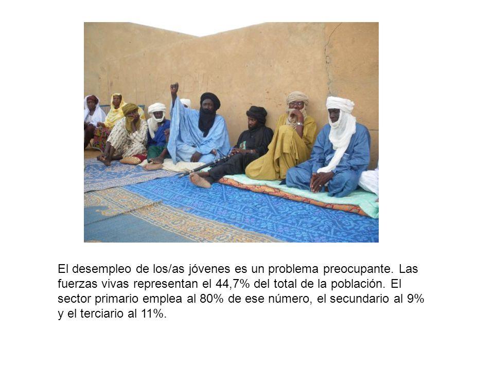 Las mujeres representan el 37,67% de esa población activa y predominan en los sectores tradicionales de la artesanía y el comercio.
