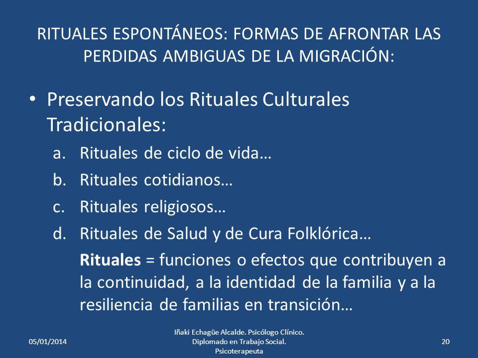 RITUALES ESPONTÁNEOS: FORMAS DE AFRONTAR LAS PERDIDAS AMBIGUAS DE LA MIGRACIÓN: Rituales de conexión: Visitas, envíos de mensajes y de remesas de dine