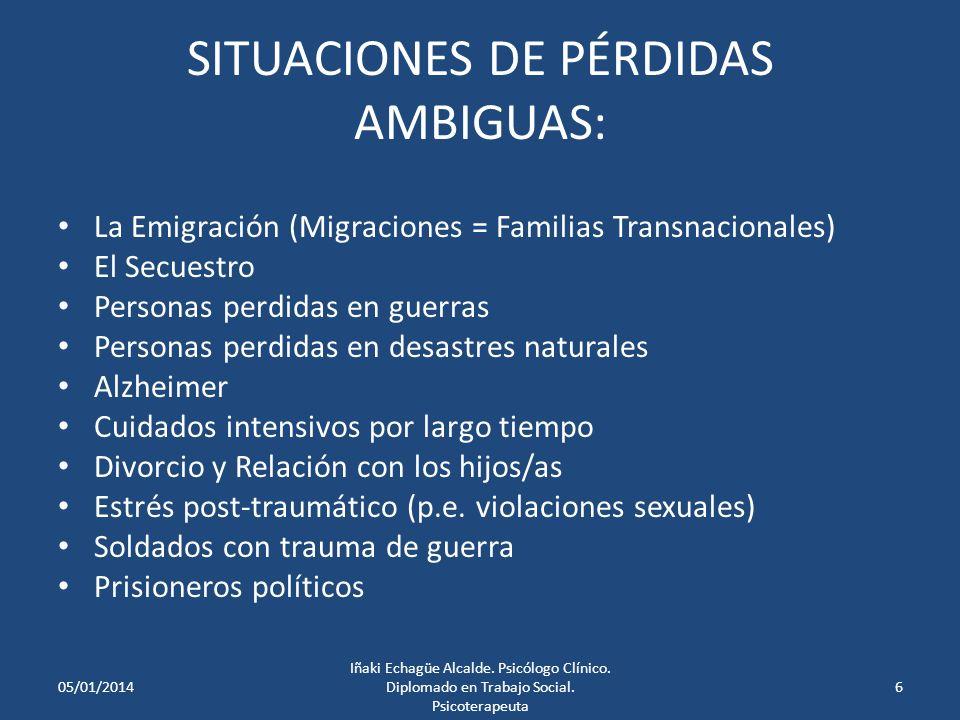 SUGERENCIAS DE PASOS PARA EL TRABAJO TERAPÉUTICO: Obtener una narrativa de la migración (quién, cómo, cuándo, qué pasó en la etapa de premigración/preparación, la entrada y la adaptación…) Considerar las conexiones entre países y partes de la familia.