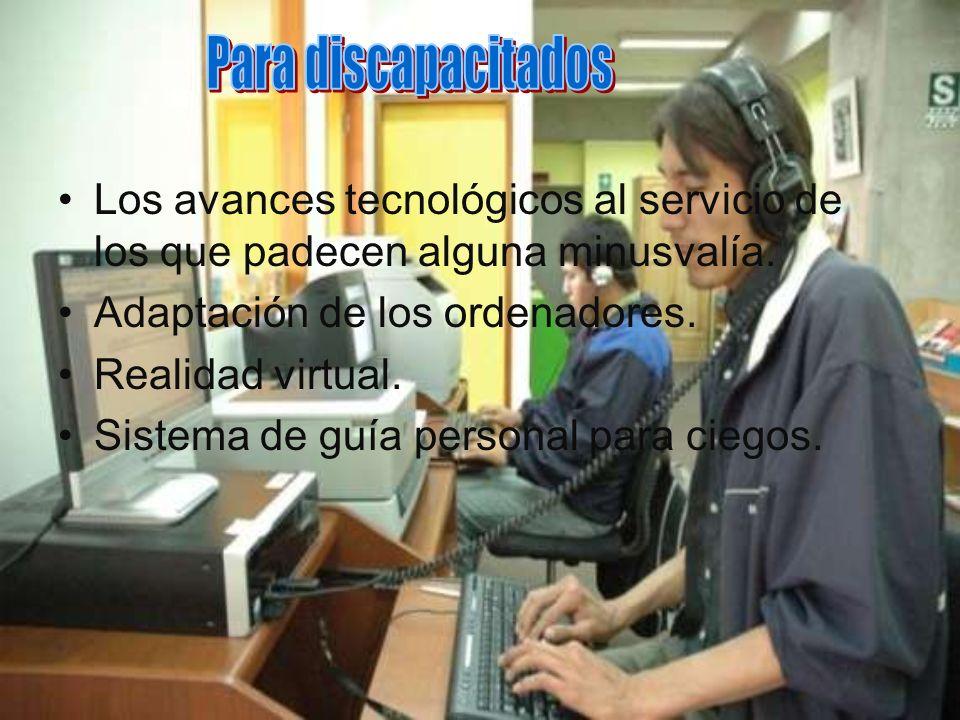 Innovaciones para discapacitados.