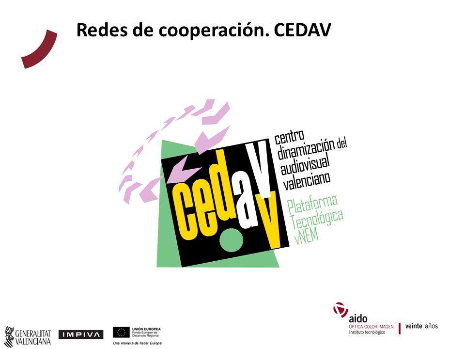 Redes de cooperación. CEDAV