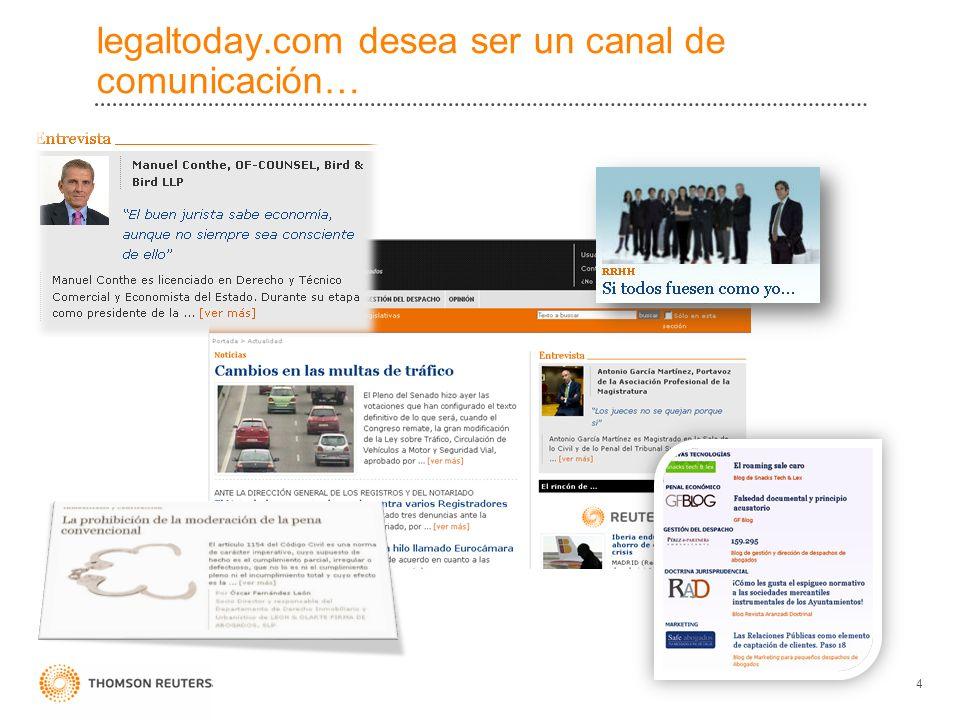 legaltoday.com desea ser un canal de comunicación… 4