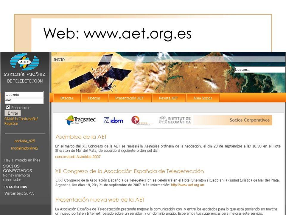 Web: www.aet.org.es