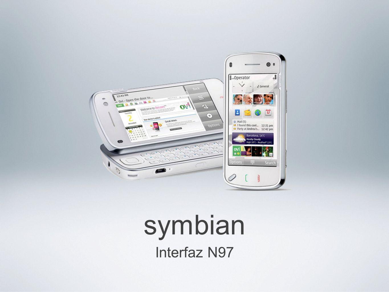symbian Interfaz N97