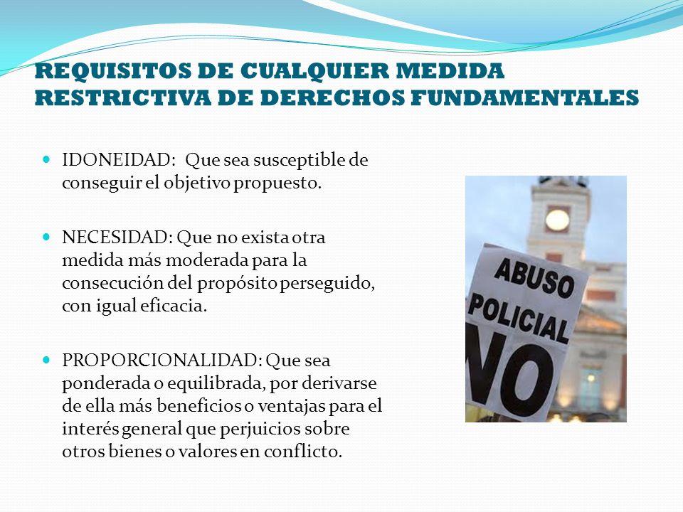 OTROS CONTROLES Controles preventivos sobre tenencia y uso de armas (Art.
