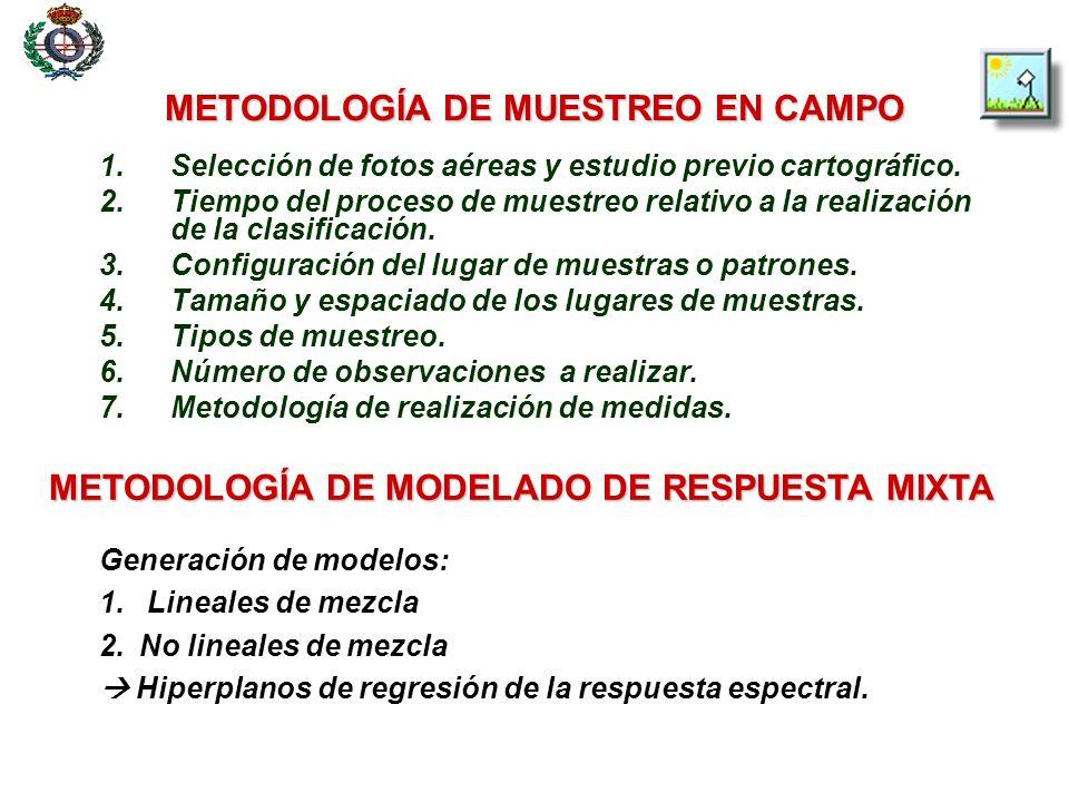 METODOLOGÍA DE MUESTREO EN CAMPO 5.