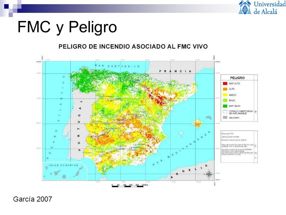 García 2007 FMC y Peligro