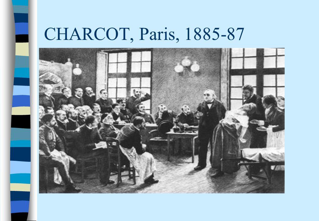 CHARCOT, Paris, 1885-87