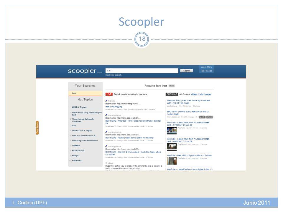 Scoopler L. Codina (UPF) Junio 2011 18
