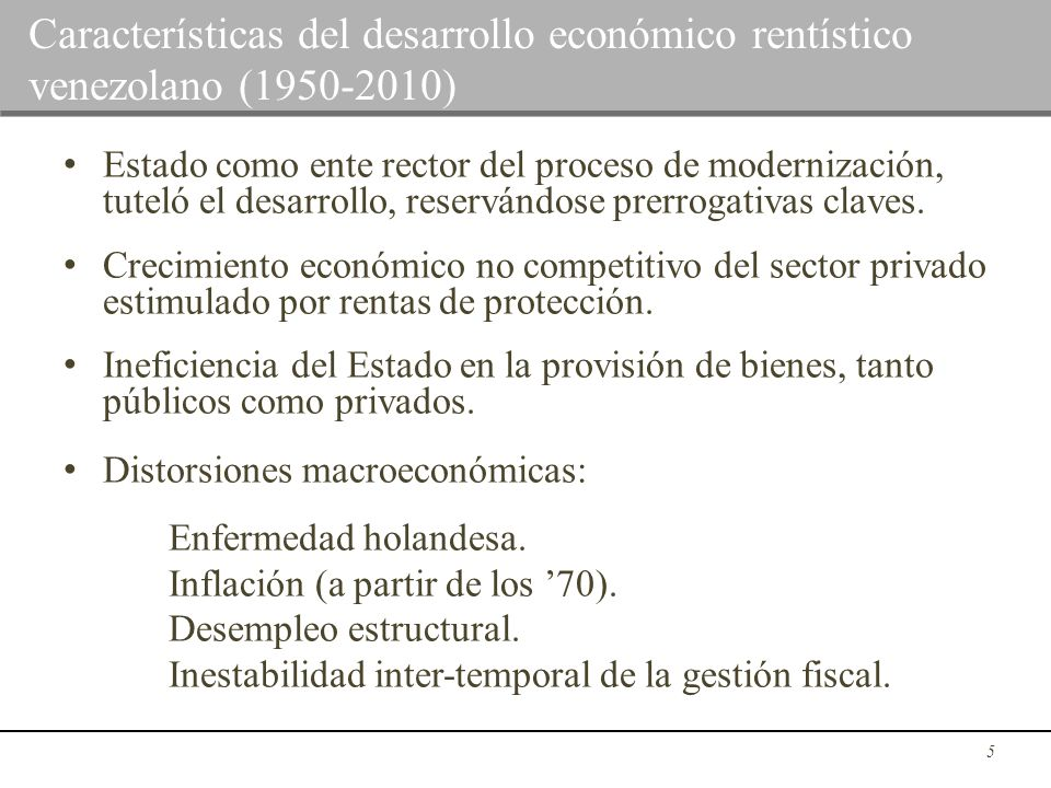 Conformación de Petro-Estado, al subir precios del crudo: Voluntarismo.
