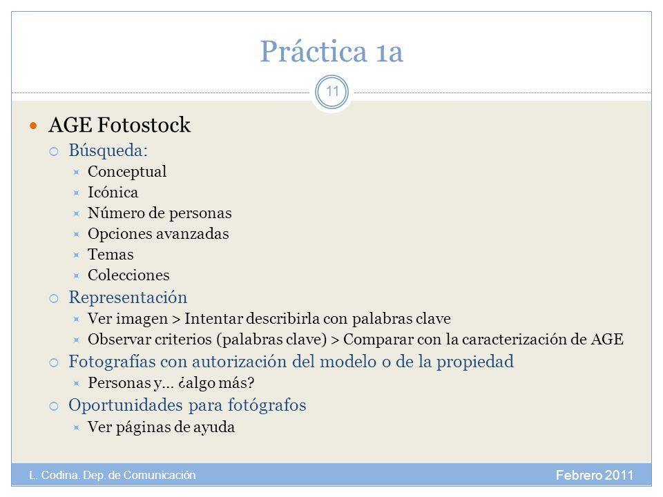Práctica 1a AGE Fotostock Búsqueda: Conceptual Icónica Número de personas Opciones avanzadas Temas Colecciones Representación Ver imagen > Intentar de