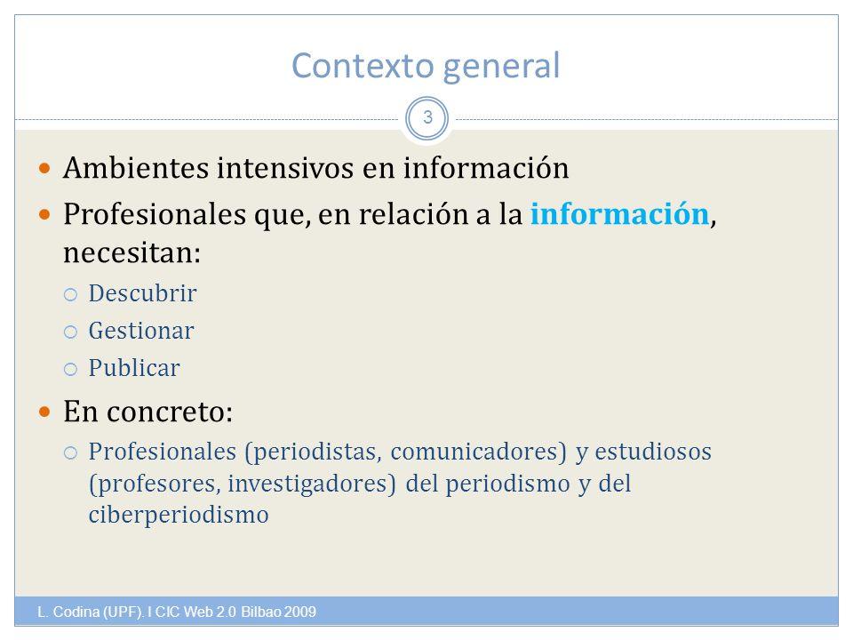 Contexto general L. Codina (UPF).