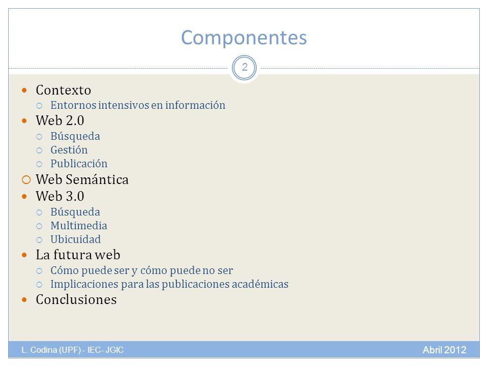 Componentes L.