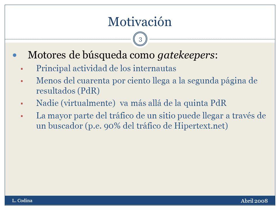 Motivación Abril 2008 L.