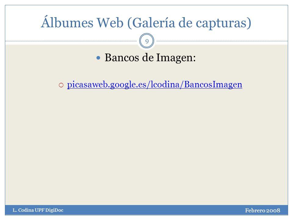 Álbumes Web (Galería de capturas) Febrero 2008 L.