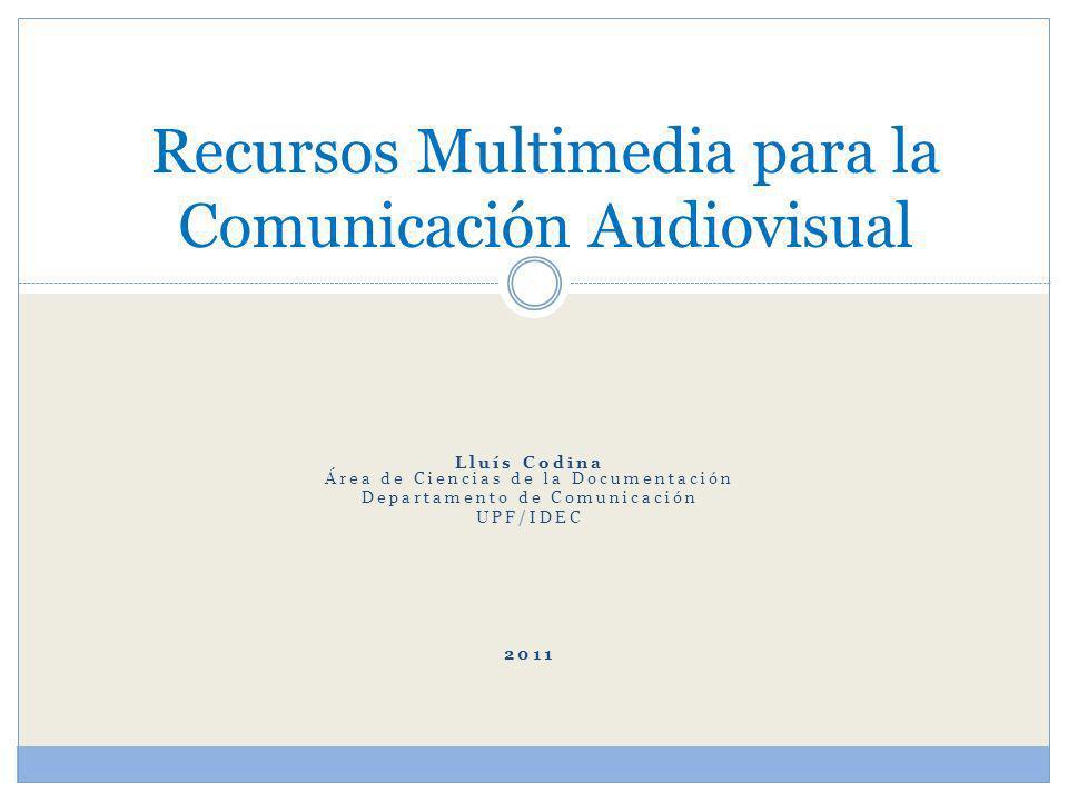 Primera Parte Introducción general Búsqueda multimedia y bancos de Imágenes Sectores editorial y creativo Tipos de derechos Proceso general de trabajo Febrero 2011 L.