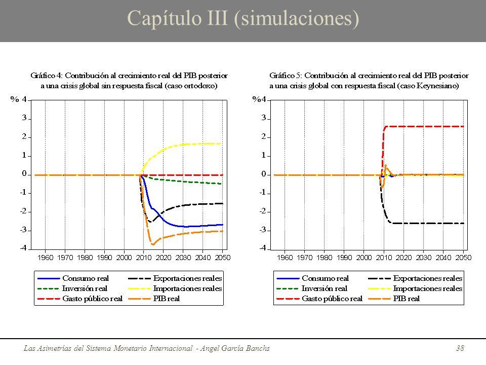 Capítulo III (simulaciones) Las Asimetrías del Sistema Monetario Internacional - Angel García Banchs38