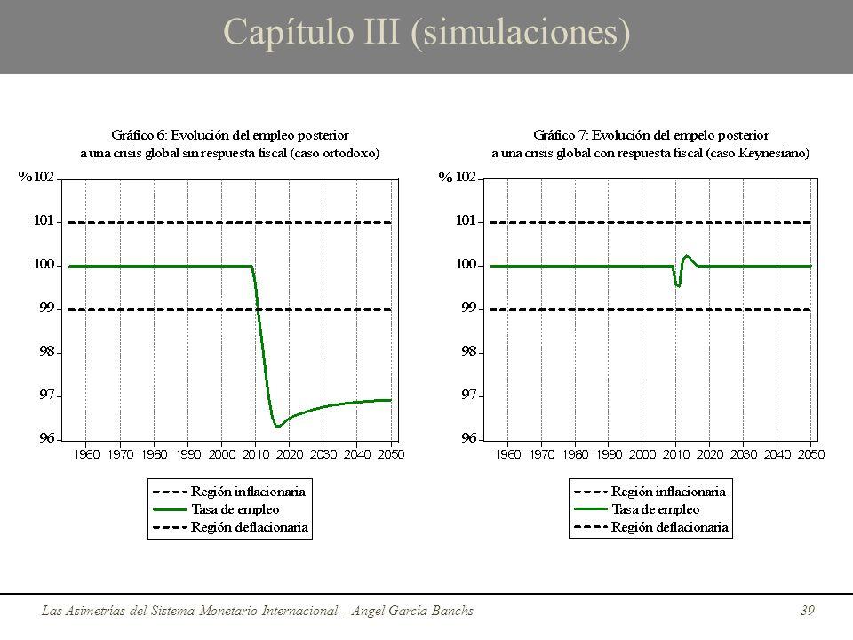 Capítulo III (simulaciones) Las Asimetrías del Sistema Monetario Internacional - Angel García Banchs39
