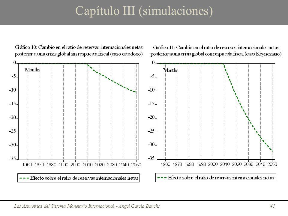 Capítulo III (simulaciones) Las Asimetrías del Sistema Monetario Internacional - Angel García Banchs41