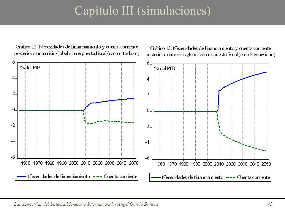 Capítulo III (simulaciones) Las Asimetrías del Sistema Monetario Internacional - Angel García Banchs42