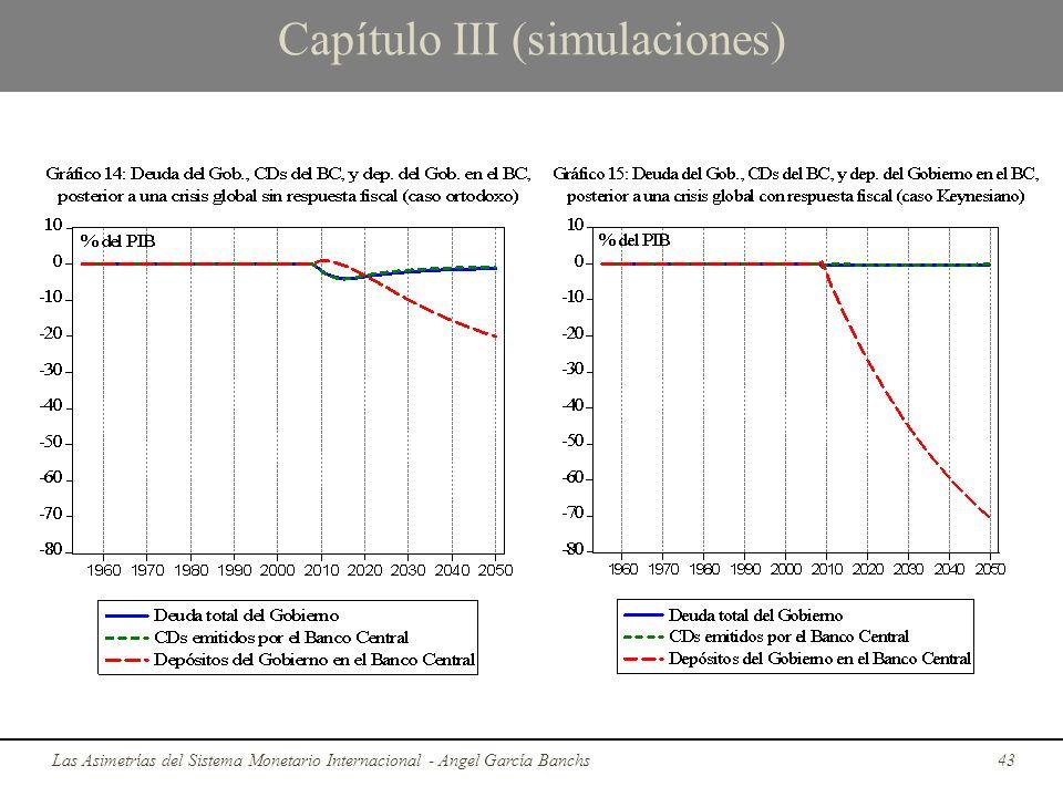 Capítulo III (simulaciones) Las Asimetrías del Sistema Monetario Internacional - Angel García Banchs43