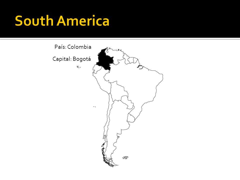 País: Colombia Capital: Bogotá