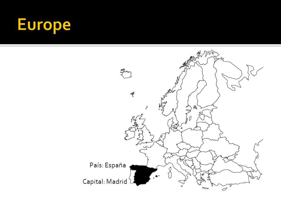 País: España Capital: Madrid