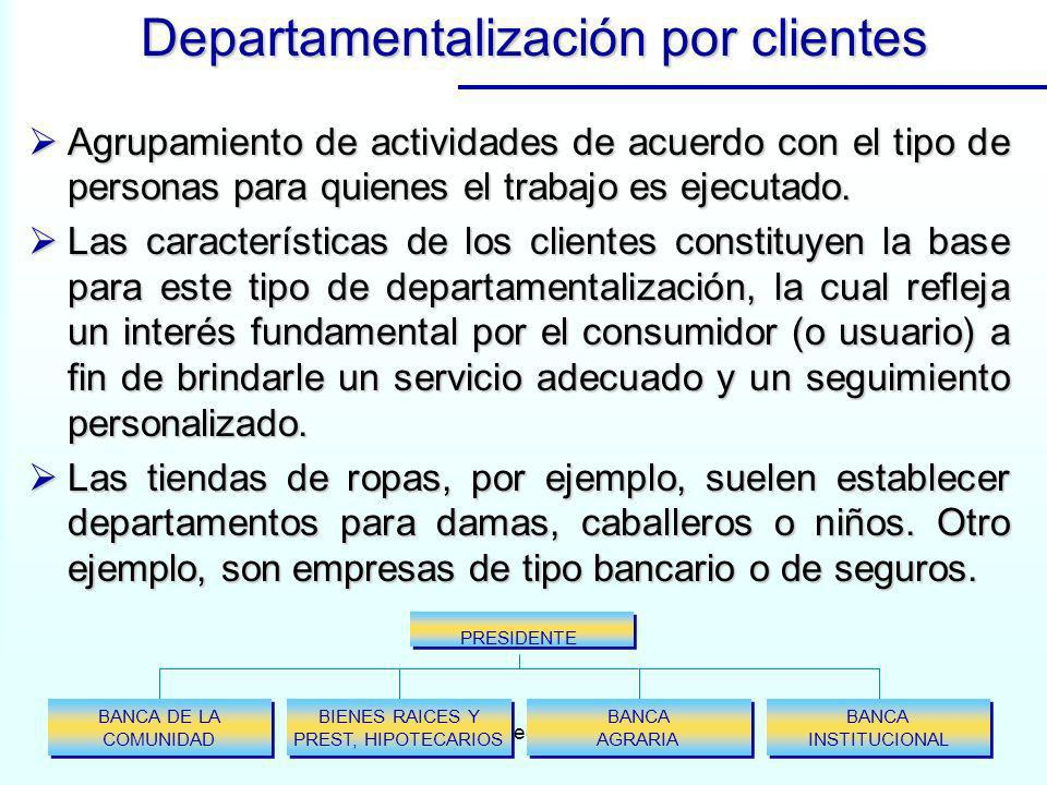 www.auladeeconomia.com Agrupamiento de actividades de acuerdo con el tipo de personas para quienes el trabajo es ejecutado. Agrupamiento de actividade