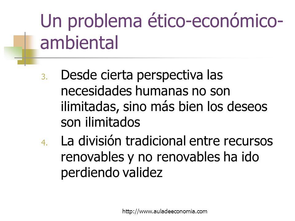 http://www.auladeeconomia.com Un problema ético-económico- ambiental 3.