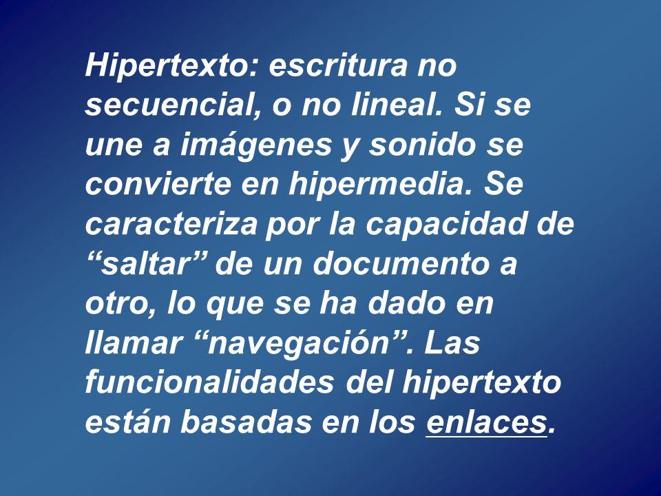 Hipervida Hiperducación Hipertexto Hipermedia Imagen-Sonido