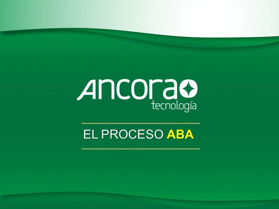 Patente WO 2009/008693 EL PROCESO ABA