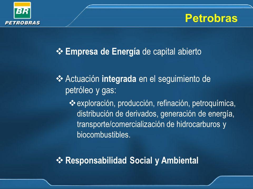 Misión Actuar de forma rentable en las actividades de la industria de petróleo, gas y energía, en el mercado de Brasil e internacional y proveer de productos y servicios de calidad, respectando el medio ambiente, considerando los intereses de sus accionistas y el desarrollo de las regiones donde se realizan las inversiones.