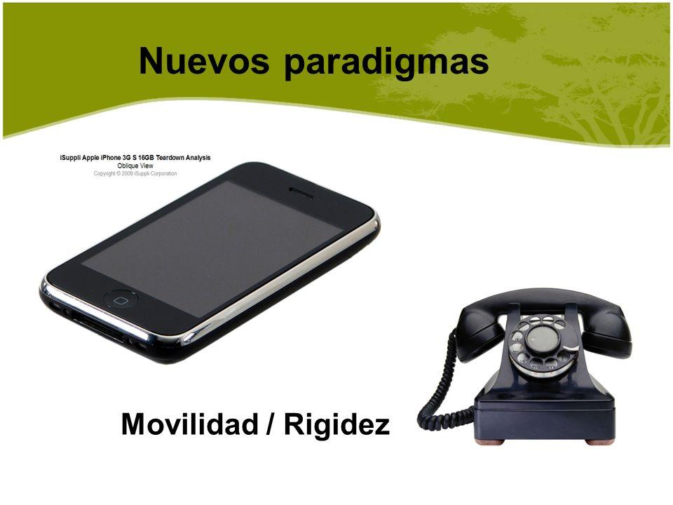 Movilidad / Rigidez Nuevos paradigmas