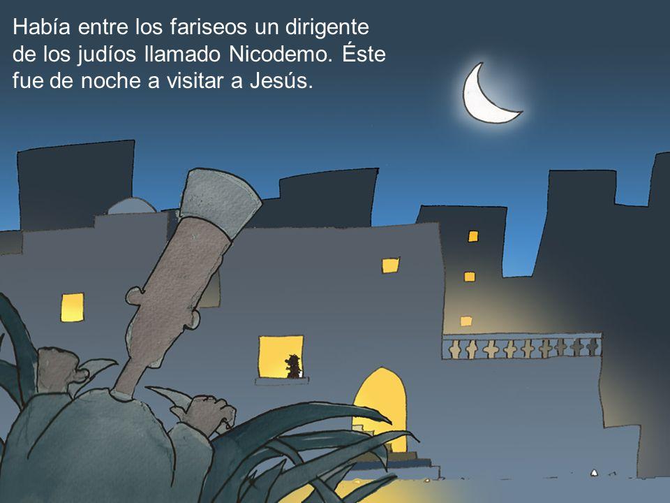 Había entre los fariseos un dirigente de los judíos llamado Nicodemo. Éste fue de noche a visitar a Jesús.
