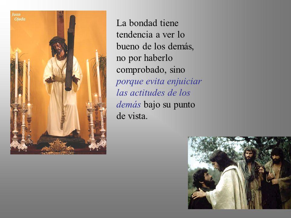 Jesús experimenta en su vida la cercanía del amor de Dios y lo comunica con toda sencillez.