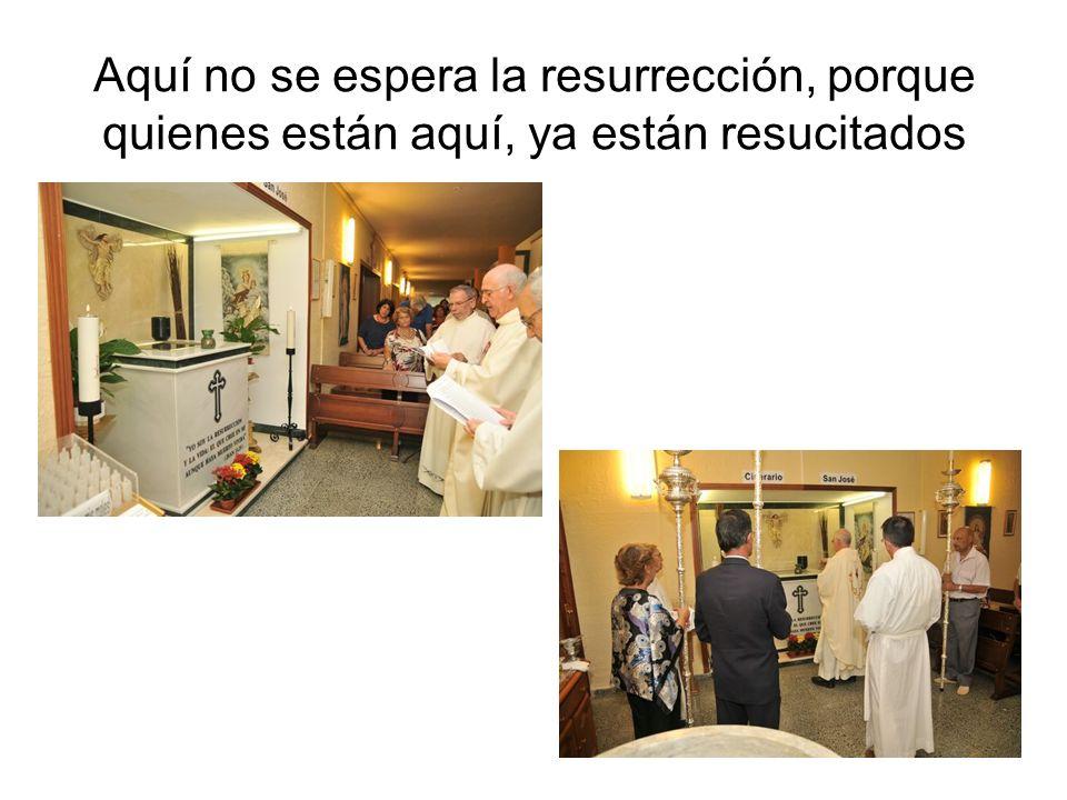 La Parroquia de San Leandro, de acuerdo con la tradición de la Iglesia sobre el cuidado y la veneración de los fieles difuntos, ofrece un lugar digno para permitir el depósito de las cenizas de los difuntos de la comunidad parroquial.