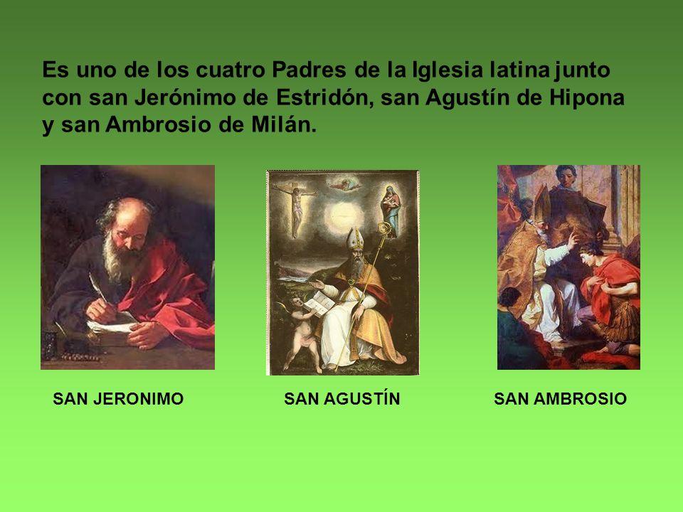 Fue proclamado Doctor de la Iglesia el 20 de septiembre de 1295 por Bonifacio VIII.