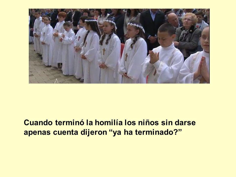 Con la comunión nos da la fuerza, indicó el Papa, Él viene a nosotros.