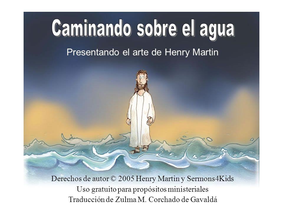 Después de Jesús alimentar a los 5,000, le dijo a sus discípulos que subieran al bote y navegaran hasta el otro lado.