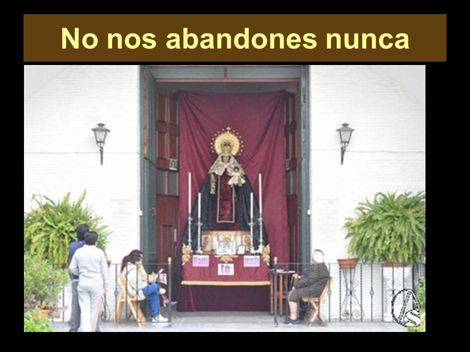 Madre del Carmen, tú de verdad nos quieres.