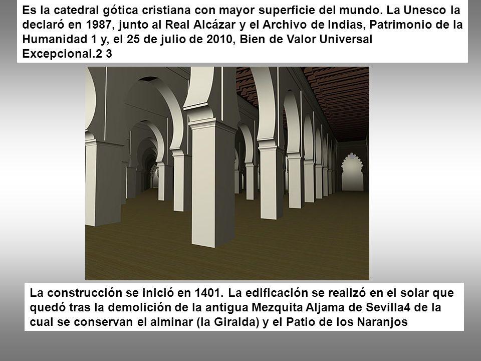 Periodo almohade (1172-1248)[editar] El califa almohade Abu Yacub Jusuf ordenó la construcción de una gran mezquita en Sevilla.