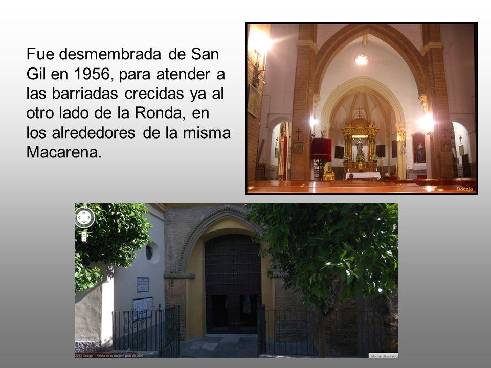 De ella han nacido después, tomando parte de su territorio: NUESTRA SEÑORA DE LAS VEREDAS Creada en 1967.