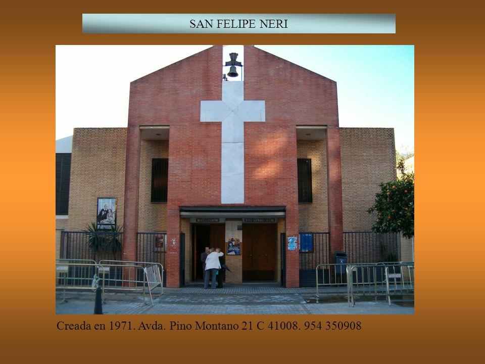 NUESTRA SEÑORA DE LOURDES Creada en 1972 para atender el Polígono Norte, Barriada de Santa María del trabajo, Barriada el Torrejón y Huertas de la zona Nordeste.