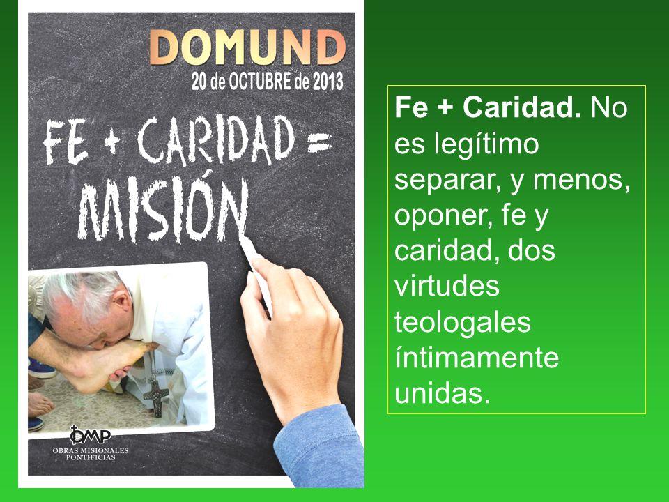 Fe + Caridad.