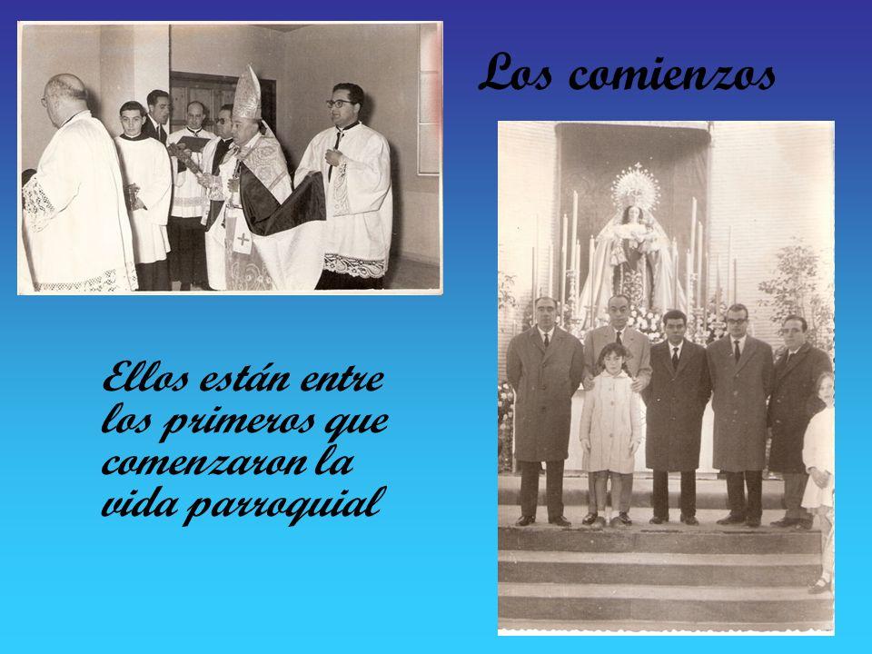 El primer párroco Don Miguel Ferrero Díaz