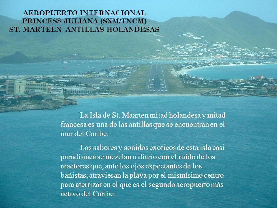 La Isla de St. Maarten mitad holandesa y mitad francesa es una de las antillas que se encuentran en el mar del Caribe. Los sabores y sonidos exóticos