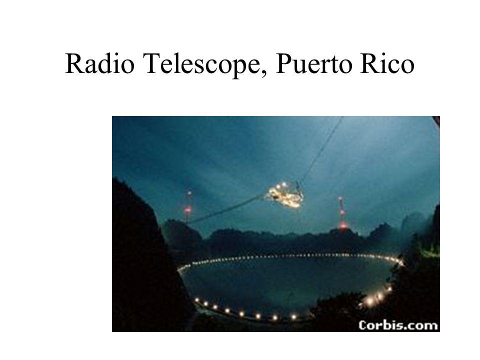 Radio Telescope, Puerto Rico