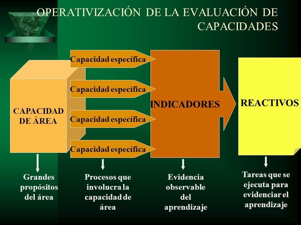 OPERATIVIZACIÓN DE LA EVALUACIÓN DE ACTITUDES VALORES DE LA INSTITUCIÓN EDUCATIVA ACTITUDES ANTE EL ÁREA ACTITUDES REFERIDAS A LAS NORMAS Indicadores INSTRUMENTOS DE EVALUACIÓN