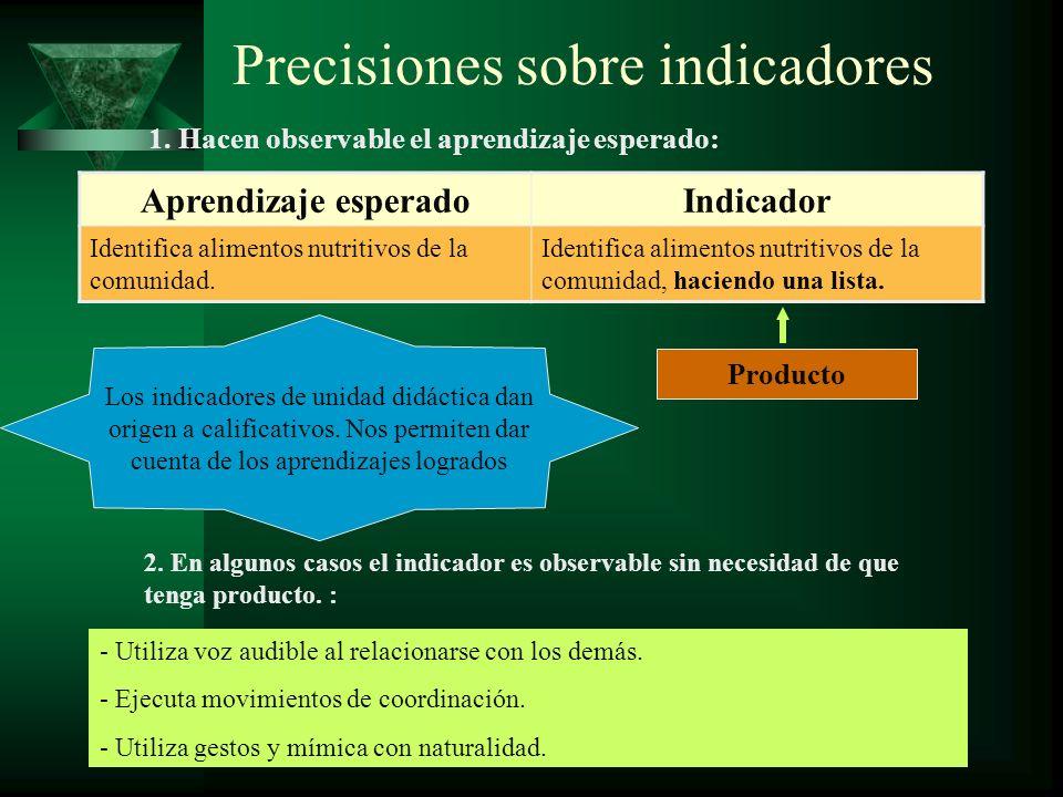 Precisiones sobre indicadores Aprendizaje esperadoIndicador Analiza el argumento del cuento Paco Yunque de César Vallejo.